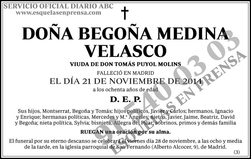 Begoña Medina Velasco